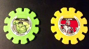 Woolworths marvel rare hulk 42 and ultron 12 discs McKellar Belconnen Area Preview