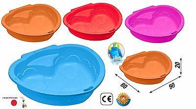sabbiera bambini piscinetta giardino giochi d'acqua combinabile con coperchio usato  Bagnola