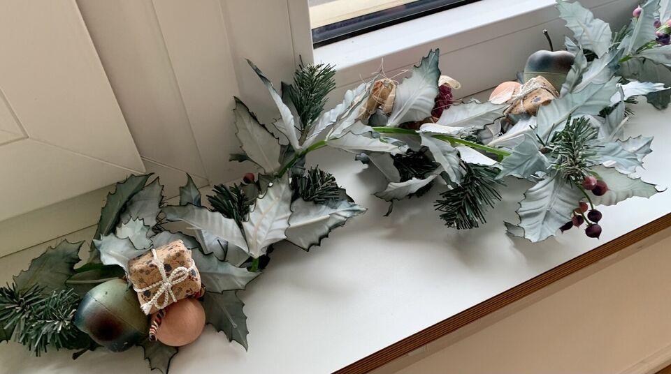 Weihnachtsschmuck, Kunststoff, Hellgrün, rose-lila-beige in Dresden - Bühlau/Weißer Hirsch