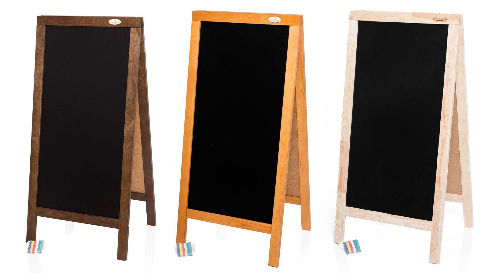 Kundenstopper XXL 125cm Holz Tafel Aufsteller Werbetafel Werbung Kreide
