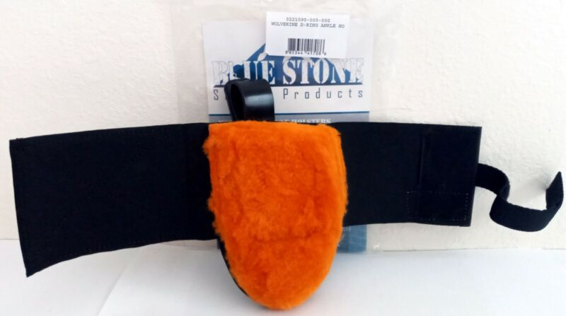 BLUE STONE WOLVERINE D-RING ANKLE HOLSTER