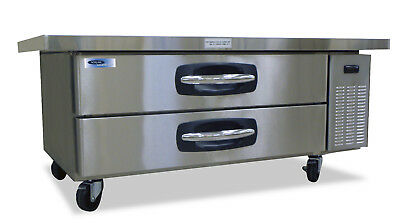 Norlake Nlcb60 Advantedge Commercial Two Drawer Refrigerated Chef Base