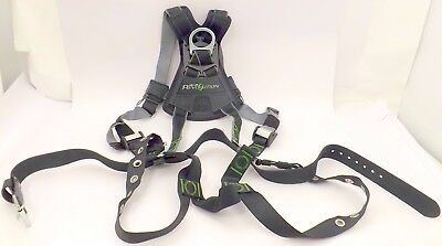 Miller Revolution Harness With Dualtech Webbing Front D-ringremovable Belt