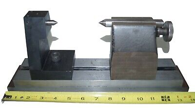 Hardinge T800 Tailstock With Precision Tail On Plate - Center Grinding Inspect
