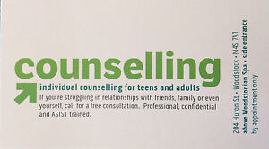Professional Counselling - Free Consultation Stratford Kitchener Area image 1