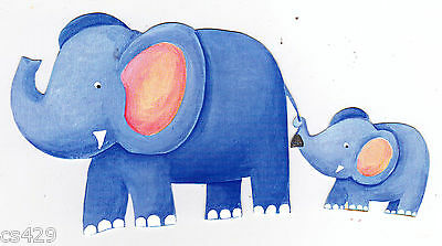 Baby Elephant Cut Out (5