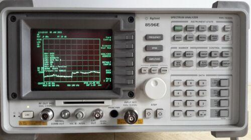 HP Agilent 8596E Spectrum Analyzer 9KHz-12.8GHz w/ TG and other Options