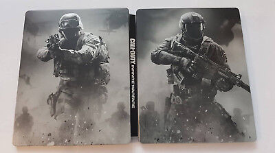 Call of Duty Infinite Warfare Steelbook - OHNE Spiel - blu-ray Größe