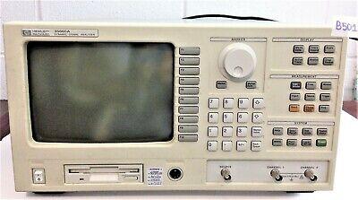 Hp 35665a Dynamic Signal Analyzer With Option 101102ana