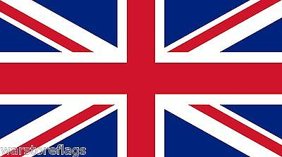 UNION JACK GIANT FLAG 8 X 5 feet UK BRITAIN ENGLAND