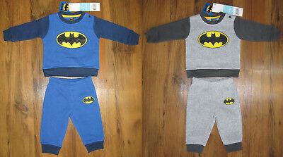Batman 2-tlg. Set Pullover + Hose Gr. 68, 74, 80, 86 Baby Jogginganzug Jungen