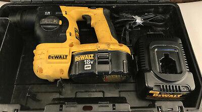 Dewalt Dc212ka 18v Cordless Sds Hammer With Accessories