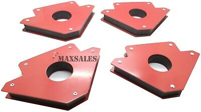 4 Pack 5 75lbs Strength Strong Welding Magnetic Arrow Holder Magnets Magnet