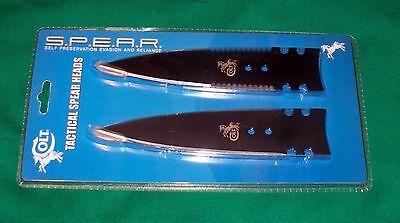 Colt knives Two Piece S.P.E.A.R. Head Set Bug out Bag BOB Surival closeout