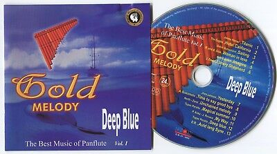 [BEE GEES COVER] TUPAC PERALTA~GOLD MELODY VOL.1...DEEP BLUE~2002 US 13-TRACK CD
