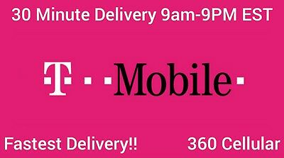 TMOBILE Prepaid Phone Numbers To / For PORT FAST DELIVERY / DISCOUNTS Available