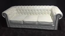 Upholstered Chesterfield sofa couch Thornlands Redland Area Preview