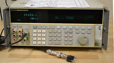 Fluke 5700a Precision Multifunction Calibrator Opt 03 Wideband Calibrated Wdata
