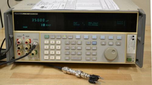 Fluke 5700A Precision Multifunction Calibrator opt 03 Wideband Calibrated w/Data