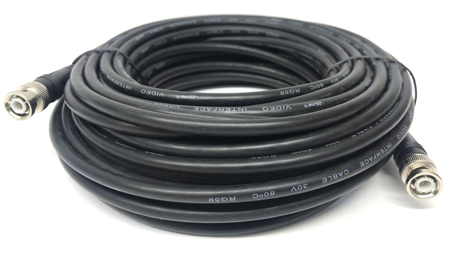 15m BNC KABEL | Video Kabel | RG59 | 75 Ohm | BNC Stecker auf BNC Stecker