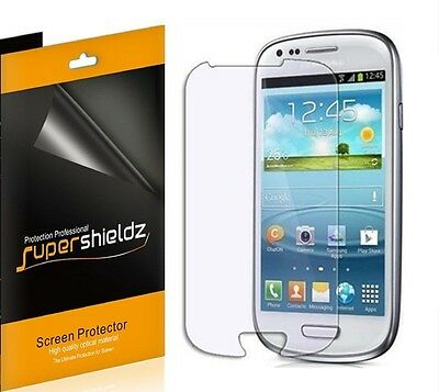 6x Supershieldz Clear Screen Protector for Samsung Galaxy S III S3 Mini i8190 - Mini I8190 Screen Protector