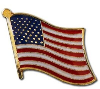 Paquete de 50 EEUU América Campo Amistad Bandera Bicicleta Gorro Pin de...