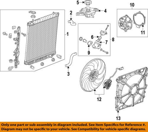 Genuine GM Fan Shroud 23208448