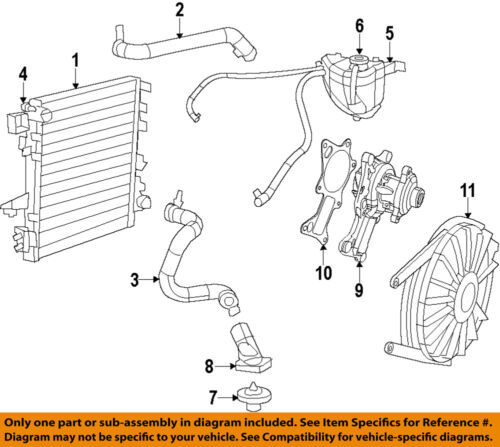 Radiator APDI 8012957 fits 07-17 Jeep Wrangler