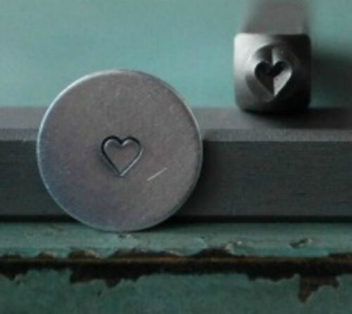 SUPPLY GUY 1.5mm Heart Metal Punch Design Stamp SGCH-77