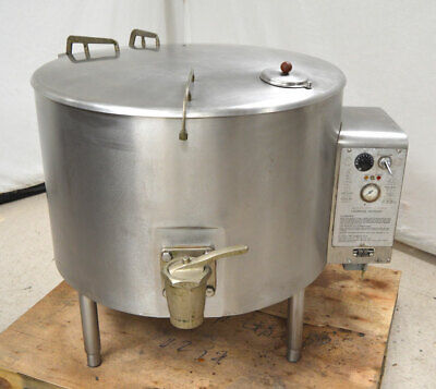 Vulcan-hart Es-60 60-gal Commercial Steam Jacketed Kettle Stainless 240vac 1-ph
