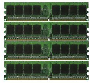 New 8GB KIT 4x2GB PC2-6400 DDR2-800 Dual Channel 240pin DIMM Desktop Memory