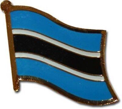 Wholesale Pack of 50 Botswana Country Flag Bike Hat Cap lapel Pin