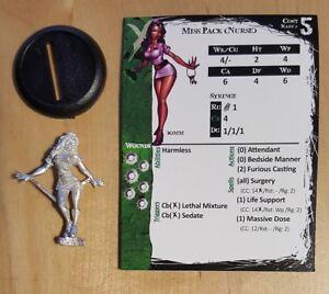 Malifaux Limited Edition Metal Miss Pack Alt Nurse
