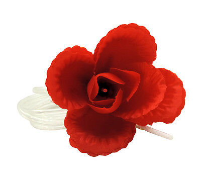 Classic Prank Water Squirting Rose Flower Corsage Boutonniere Pin Joke Gag - Water Squirting Flower