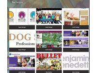 Web designer - from £250 with free Google SEO design. logos etc