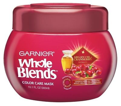 Garnier Whole Blends Hair Color Care Mask with Argan Oil & Cranberry Extracts for sale  Shipping to India