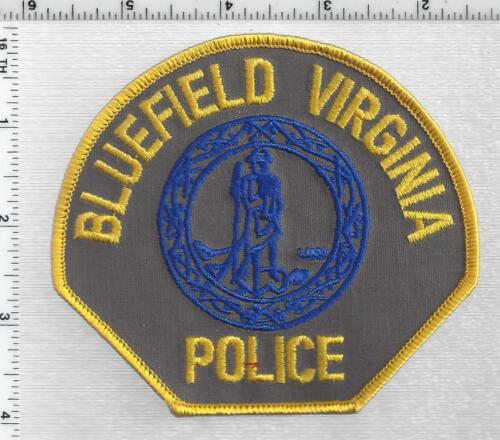 Bluefield Police  (Virginia) 4th Issue Shoulder Patch