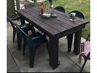 Garden Table and chairs REDUCED