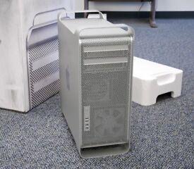 Mac Pro Tower Apple Xeon 2.8Ghz Quad Cores 4GB 500GB HDD Final Cut Pro X Logic Pro X Warranty
