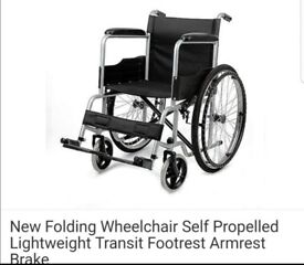Bran new wheel chair