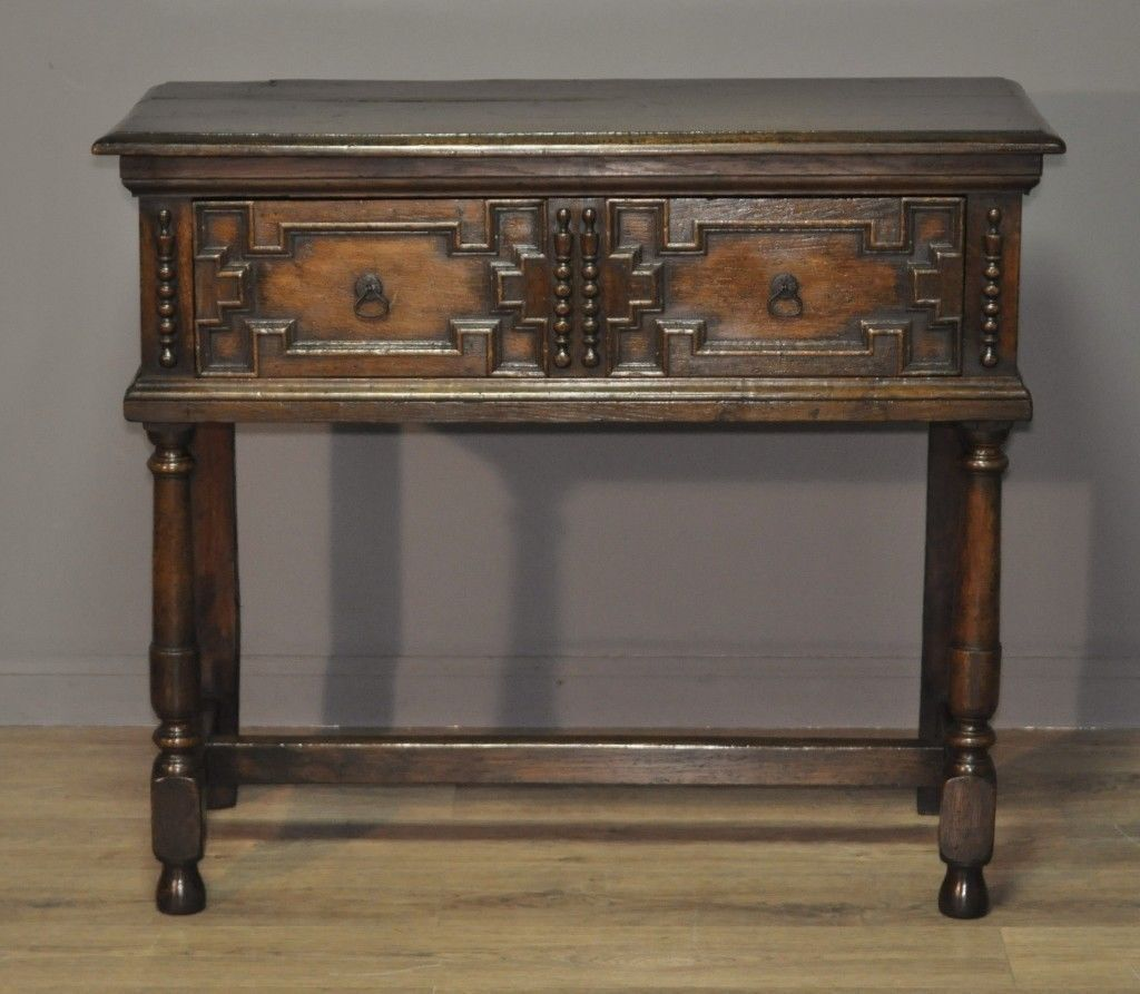 Attractive Small Antique Victorian Oak Dresser Sideboard