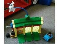 Thomas the tank engine Tidmouth sheds Harold the helicopter