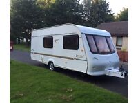Elddis avante 2003 4 berth full awning Allow wheels hot and cold water system three and 240 V
