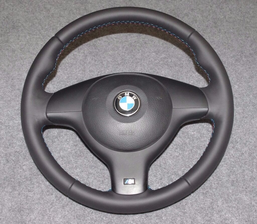 bmw e46 e39 m sport steering wheel retrimmed in selby. Black Bedroom Furniture Sets. Home Design Ideas