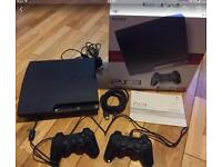 PS3 , 2 controllers + 18 games
