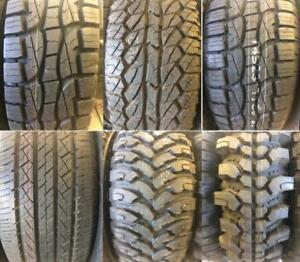 Brand New Dually Tires 10 PLY LOAD RANGE E - ONLY $149 each - M+S Rated fully warrantied - Lots of Sizes Available!