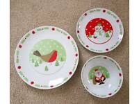 AYNSLEY Est 1775 Christmas Time 12 piece set