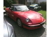 1988 Alfa Romeo Spider Convertible RHD, Rare Spec, HUGE History Folder