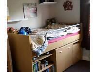 Single bed/mid sleeper/ cabin bed
