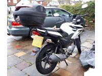 Honda CBF125 2012 Nice condition Genuine Low Mileage